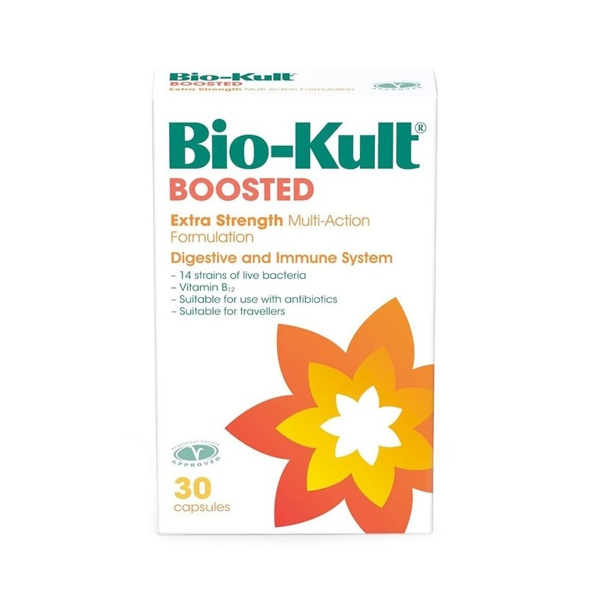 Bio kult boosted extra strength probiotic caps 30 2